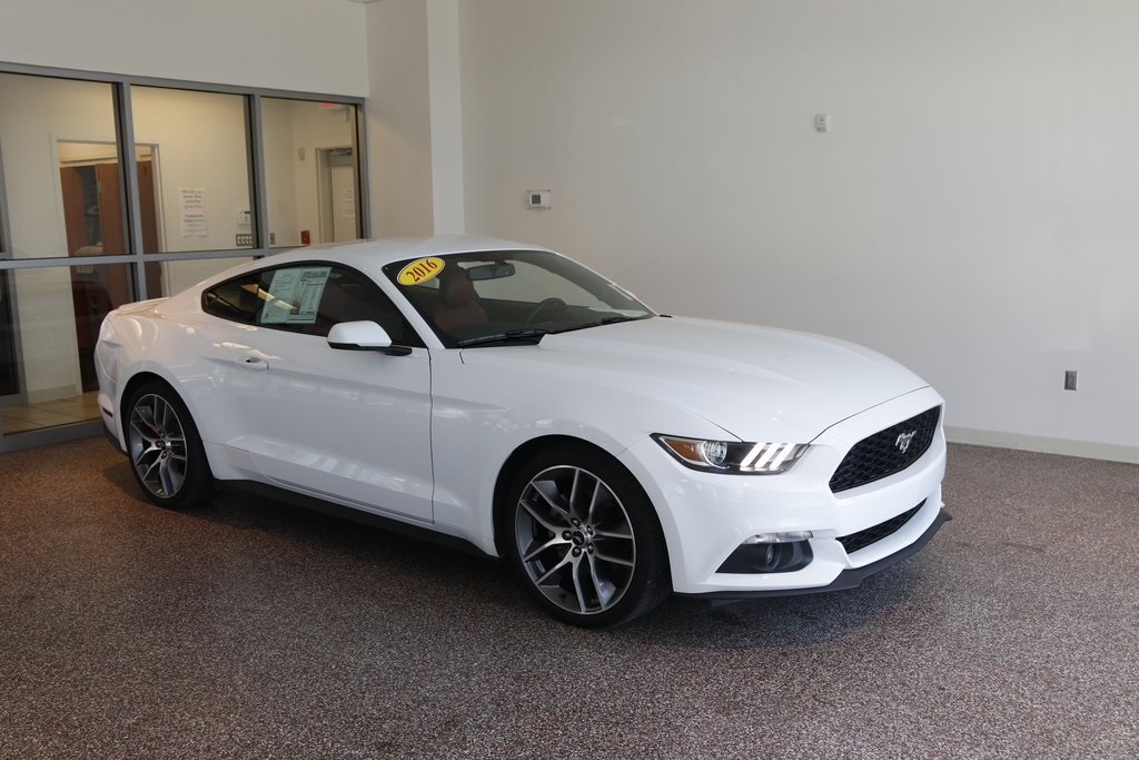 Pre-Owned 2016 Ford Mustang EcoBoost Premium